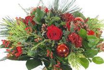 Kerstbloemen / Kerst bloemen bezorgen bij uw familie, vrienden, kennissen en andere geliefde? Bekijk in dit bord een greep uit ons assortiment, bestel en laat uw inspireren! / by verstuureenbloemetje.nl