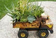 Garden goodies. / by Elsie Steel