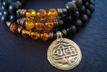 men's | yoga | malas / men's 108 bead yoga mala necklaces, prayer beads, and wrap bracelets.  each purchase includes a silk sari mala bag, polishing cloth, gemstone card and mantra card, and free 2-3 day priority shipping within the u.s.