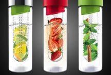 Healthy Infused water drinks / Our bodies need more water and far less sodas