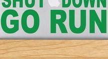 Laptop & Tablet Decals / Show your love for running on all your tech devices with our Laptop & Tablet Running Decals! #goneforarun
