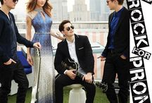 CLV x BEFORE YOU EXIT / ROCK YOUR PROM and shop this gorgeous collection of dresses for Spring 2015 (featuring the band, Before You Exit) / by Camille La Vie