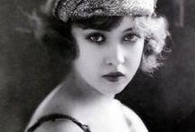 20's Flapper Girls / Charleston, flapper girls, cigarettes, smokey eyes...