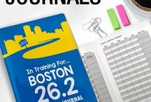 Running Journals / This runner's journal is a running log, a motivational tool and a catalog of your training, your goals and your achievements.  Designed by runners for runners - it has all the essential elements a running journal/log should have!