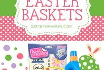 Easter Running Gifts / Gifts, running gear, and Easter Baskets for the runner in your life! Only at GoneForaRun.com!