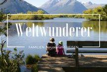 On the blog: Weltwunderer.de / Alle Pins, die dich direkt auf Beiträge in unserem Familien-Reiseblog führen!