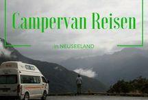 Neuseeland im Campervan | Roadtrip Tipps / Neuseeland muss man im Campervan oder Wohnmobil entdecken, daran führt kein Weg vorbei :-)