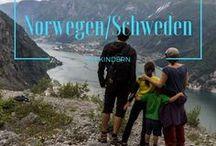 Norwegen & Schweden mit Kindern / Norwegen und Schweden sind fantastische Familien-Reiseziele. Lass dich inspirieren und sammle wertvolle Tipps zur Reiseplanung!