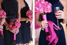 navy wedding / Navy Blue Wedding Ideas. Navy blue pairs perfectly with pink, gray, coral orange, green, lavender, or yellow. Navy is crisp fresh and fun!