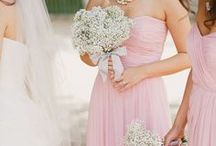 pink wedding / Unique Pink Wedding Ideas. Pink peony flowers paired with soft greens create an elegant pink wedding color scheme. / by michelle mospens
