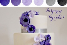 purple wedding / Rich purple hues make a lovely color scheme for your wedding. Purple, lavender, lilac, and rich plum purples blend perfect with black, gold, silver, and grays.