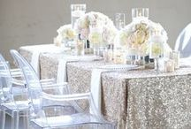 silver wedding / Gold, gold, ... SILVER! I think the NEW gold will be SILVER. / by michelle mospens