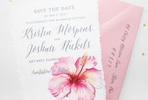 save the dates / Custom save the date cards for destination weddings are mailed out 8-12 months before your wedding day. / by michelle mospens