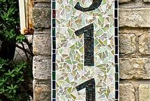 Mosaics / Feeling inspired to create a mosaic?  Use PromoCode PIN5 to save 5% off all of your handcut, stained glass tiles at www.MosaicTileMania.com. / by Mosaic Tile Mania