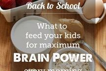 Food for kids / Teaching children to cook and do things in the kitchen is very educational and maybe they will try the food that made. It also teaches them about measurements and nutrition and names of different foods.