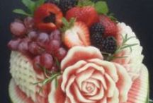 Food - Watermelon, Pumpkin  & fruit carvings / Amazing watermelon carving ideas that are very artistic and fun to make and good to eat.