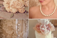 vintage wedding ideas | Kelley / Inspiration and ideas for Kelley and Anthony's Romantic Vintage wedding with an elegant twist ::  Blush Pink, Silver, Gray, Burlap, Pearls, Doilies, Lace, Mason Jars, and Pure Elegance. / by michelle mospens