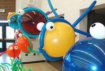 Festa Fundo do Mar / Inspirações de decoração de festa de aniversário com tema fundo do mar, para celebrar o aniversário de sereia e marinheiros. Dá até para adaptar ao tema Nemo.
