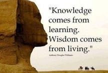 Knowledge Quotes and Sayings / Develop a passion for learning. If you do, you will never cease to grow. ~Anthony J. DÁngelo #quote