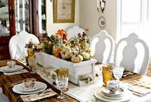 Holidays and Events Tables / decorating for the holidays at your table