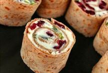 appetizers / party food / by Gail Gnatek