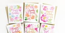 greeting cards / A fun and cheerful way to send delightful birthday wishes