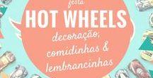 Festa Hot Wheels / Inspirações de decoração de festa de aniversário com o tema Carros, Hot Wheels, pistas.