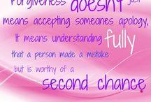 Forgiveness!!