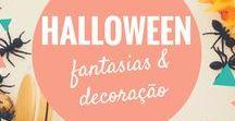 Dia das Bruxas / Fantasias de dia das bruxas e ideias de decoração de Halloween. Comidas e brincadeiras para a festa de terror.