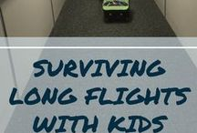 Family Travel | Flying Tips / Tips for Flying with Kids | Flying with Toddlers | Flying with Preschoolers | Family Travel Tips | Airplane Tips | Layover Tips | Long Flights with Kids | Toddler Travel Tips