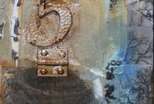Mixed Media Art by Intuitive Artist Joan Fullerton /  Mixed Media Art by Intuitive Artist Joan Fullerton