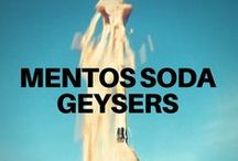 Mentos Soda Geysers / It's the viral video that swept the nation. Steve Spangler's original Diet Coke and Mentos Geyser video inspired science and soda enthusiasts everywhere to recreate their own Geyser Videos. Here's our choices for the best of the best.