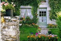 maison / dream colors, dream furniture, dream gardens, dream home