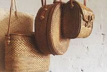 accessories {bags + travel} / To hold your life's necessities in style.