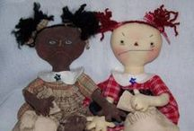 PRIMITIVE  RAGGEDY ANN DOLLS / Handmade Raggedy Ann doll by Simply Tattered Primitives  can order at https://www.facebook.com/SimplyTatteredPrimitives/