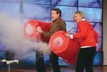 Steve Spangler & Ellen Degeneres: Together Again / Steve started on the Ellen DeGeneres Show in 2007 and has made 16 appearances to date!  https://stevespangler.com/entertaining-speaker/