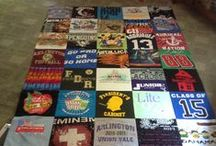 Cherished Keepsakes & Memories Gifts & T-SHIRT Blankets / I will capture a memory for you to hold by transforming a cherished piece of clothing or other treasured fabric into a keepsake. Custom made for Wedding's, Babies Birth, Anniversaries, Birthday's or any special day or holiday. Very special gift when someone has loss a loved one or pet. Now you can hold them near. T-shirt or clothing blankets  baby, twin, double, queen Pillow Blanket Bear Dog Rabbit I can probably make most any animals, message me for prices please message me.
