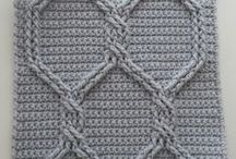 crochet cables / by By Number 19