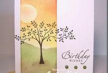 Cards - Trees / by Kristine Kubitz Fossmeyer