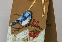 Cards - Birds / by Kristine Kubitz Fossmeyer