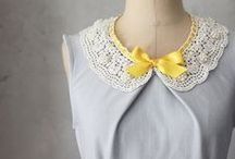 Sewing and Dressmaking Ideas / Things to make and do. Photos that inspire me to sew.