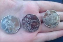 Your Olympic & Paralympic 50p collections / Pictures sent to us from collectors of the Olympic & Paralympic 50p coins.  / by The Royal Mint