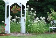 old door/window/screen ideas / by Kimberly Stensaker