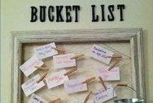Bucket List | I want to.. / Bucket List