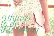 Spring Fling / #clothing #beauty #summer #fun #sun