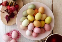 Easter / Easter Bunnies... Pastel Colors... Eggs... Chocolate... Not exactly the true meaning of Easter...  / by Sarah Wood