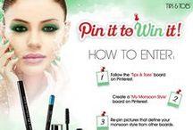 My Monsoon Style / #MyMonsoonStyle #T&TContest #ContestAlert #Contest #India #Cosmetics #Beauty #Gloss #Lipstick #Blush