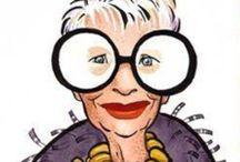 O-O Iris / Fascinated by Iris Apfel's style  / by Ellen King