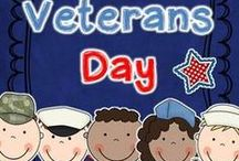 Veterans Day kids classrooms activities crafts / Veterans Day resources, crafts, and activities for kids, teachers, classrooms, home school families... 2018 Visit www.operationwearehere.com/veteransday.html for more resources!