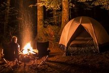 Camping  / The great outdoors...  / by Sarah Wood